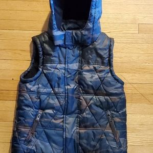 Nwot came puffer hooded vest